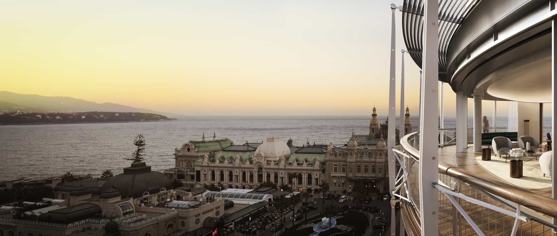 Monaco Properties - In the Golden Square of Monte-Carlo : Paradise for rent